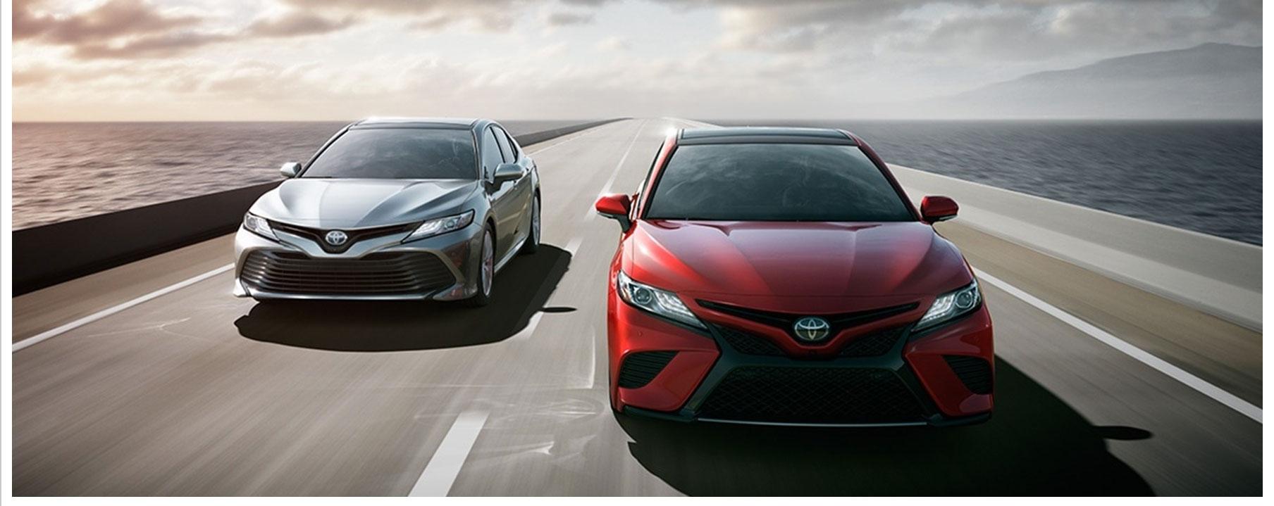 2017 Toyota Camrys