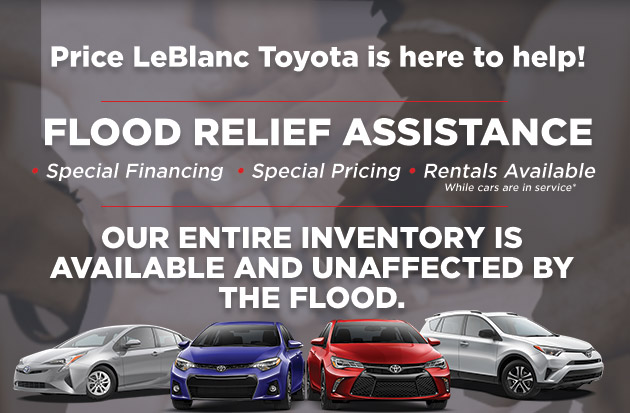Price Leblanc Toyota >> Flood Relief | Baton Rouge LA | Price LeBlanc Toyota