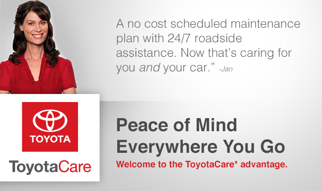 Peace of Mind Everywhere You Go - Toyota Care