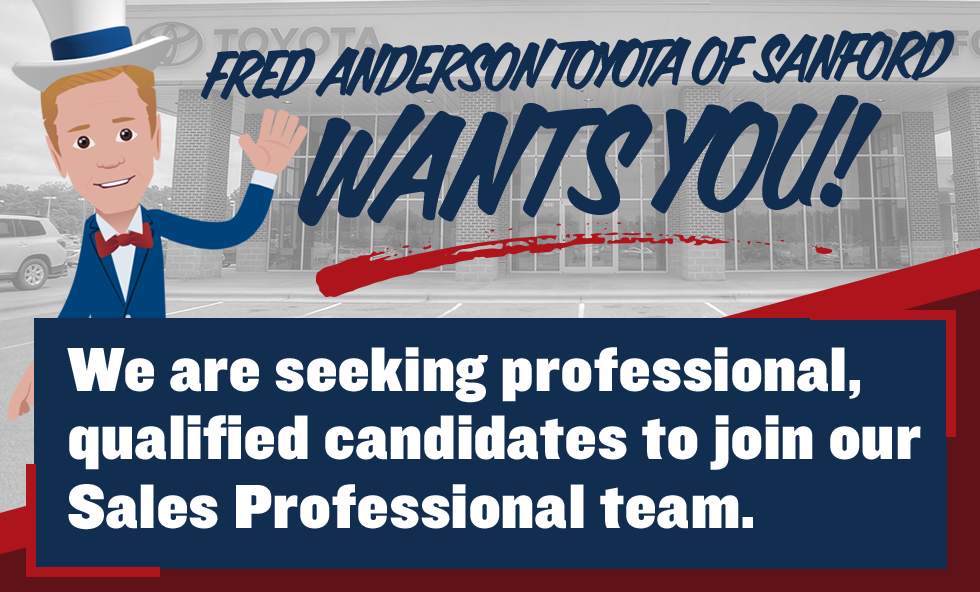Fred Anderson Of Sanford Wants You