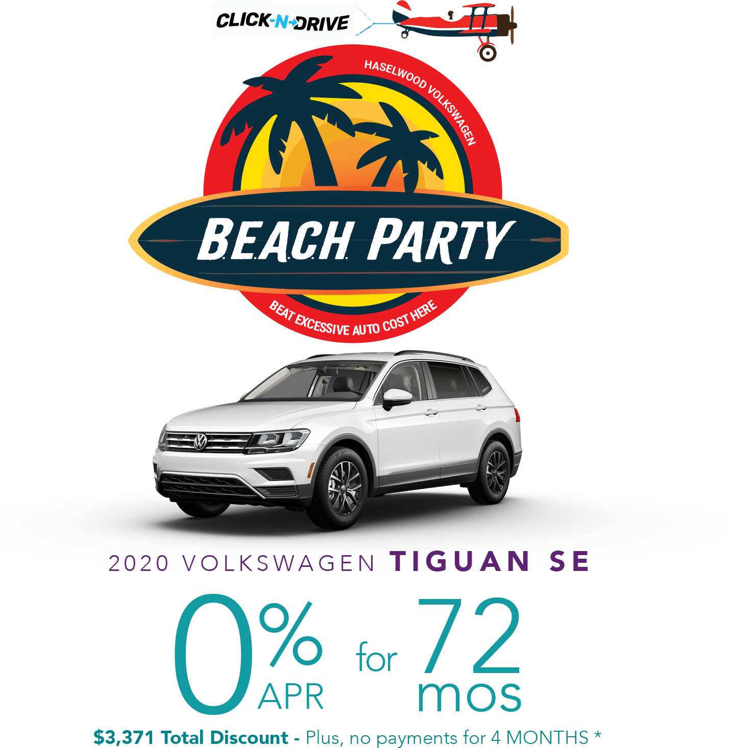 Beach Party Offer